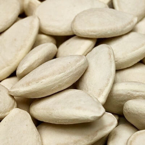 Salted in shell squash seeds. Sold by the lb.