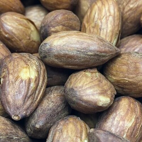 California Roasted No Salt Whole Almonds | Snack Nuts | Roasted in Natural Coconut Oil
