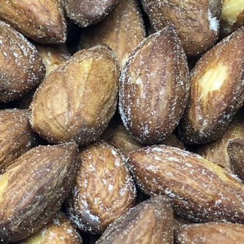 California Salted Whole Almonds | Snack Nuts | Roasted in natural coconut oil
