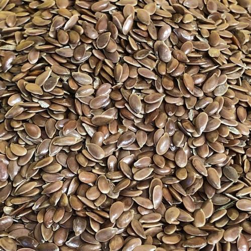Seeds Flax Seeds Brown