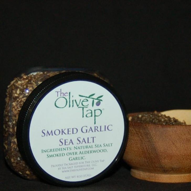 Smoked Garlic Sea Salt In Jar