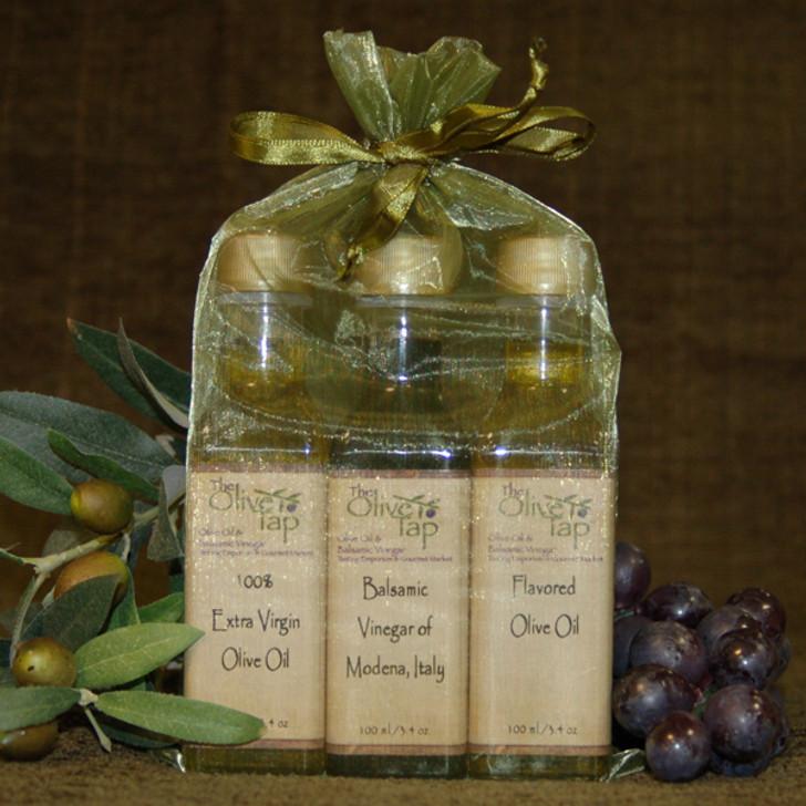 Tap's Trio Oil and Vinegar Sampler Sets