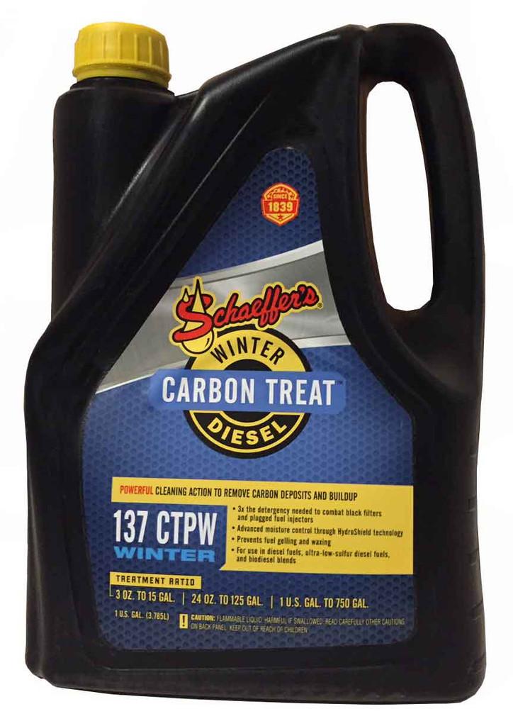 Schaeffer 0137CTPW-004S CarbonTreat Premium Winter Diesel Treatment (1-Gallon)