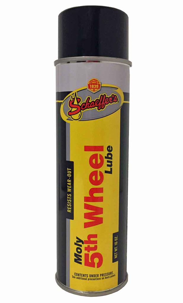 Schaeffer 0202-011S Moly 5th Wheel Lube (16 oz. Can)