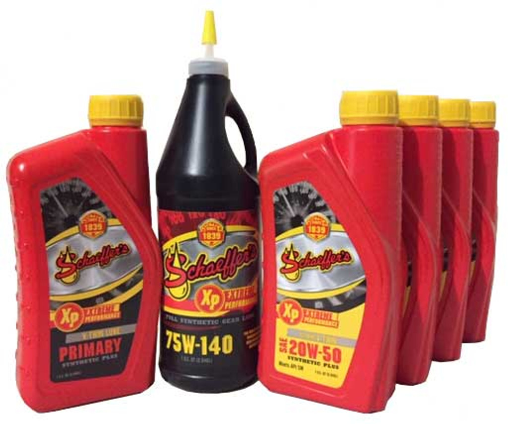 Schaeffer's Extreme V-Twin Synthetic Plus Package Deal (6 Quarts)