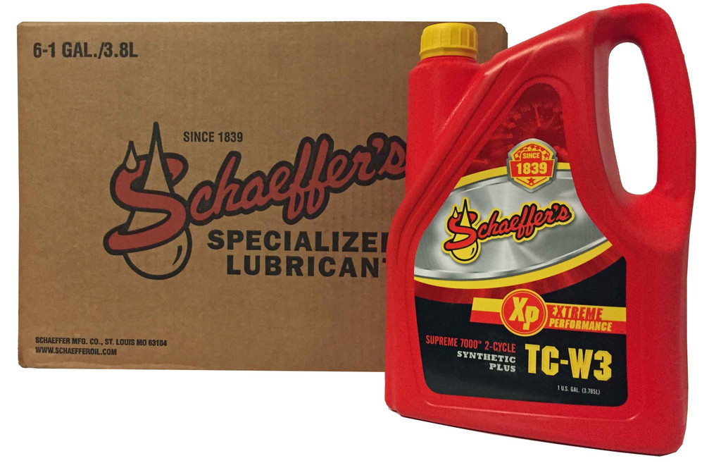 Schaeffer 0706-006 Supreme 7000 Synthetic Plus 2-Cycle Oil TC-W3 (6-Gallons)