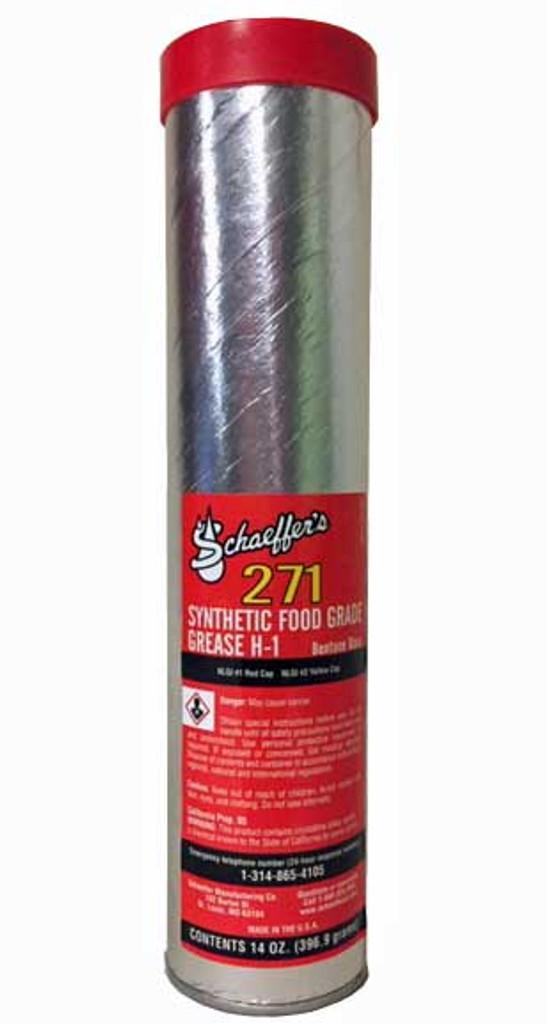 Schaeffer 02711-029S Synthetic Food Grade Grease H-1 NLGI #1 (1-Tube)
