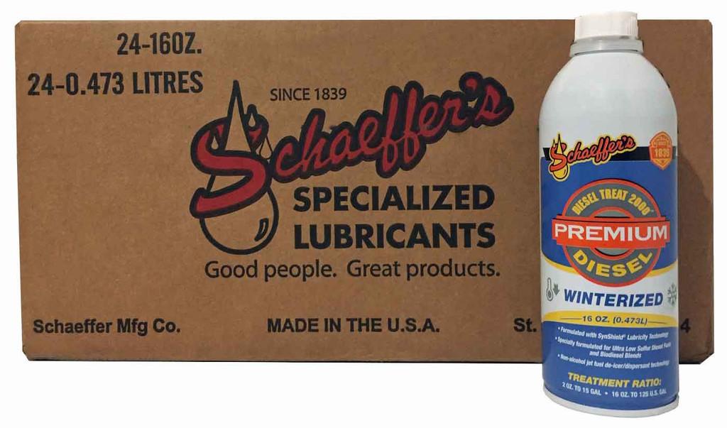 Schaeffer 0137ULSW-042 Diesel Treat 2000 Ultra Low Sulfur Winter Premium (24-Pint case)
