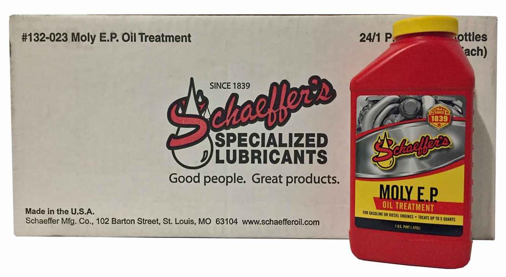 Schaeffer 0132-023 Moly EP Engine Oil Treatment (24-Pint case)