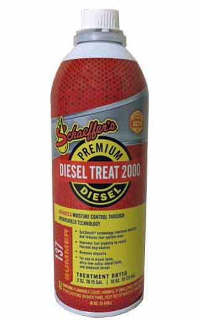 Schaeffer 0137-042S Diesel Treat 2000™ Ultra Low Sulfur (1-Pint)