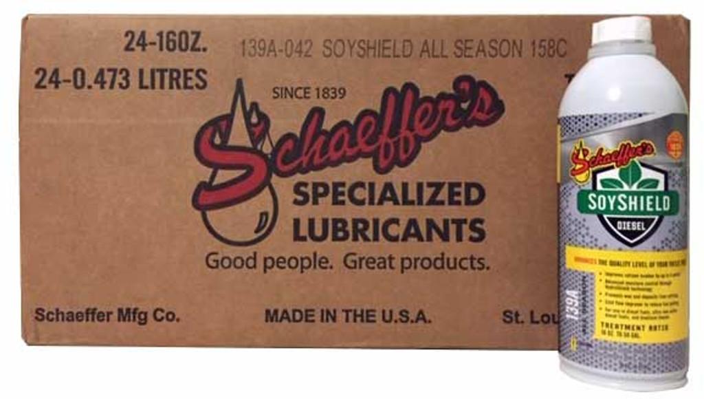 Schaeffer 0139A-042 SoyShield All Season Diesel Fuel Additive (24-pint case)