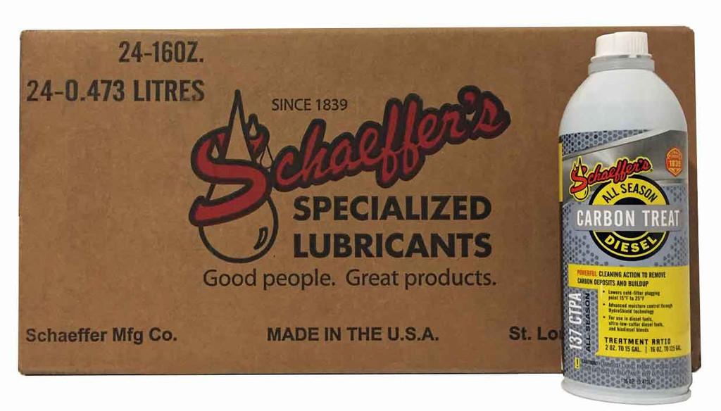 Schaeffer 0137CTPA-042 CarbonTreat™ Premium All Season Diesel Treatment (24-pint case)
