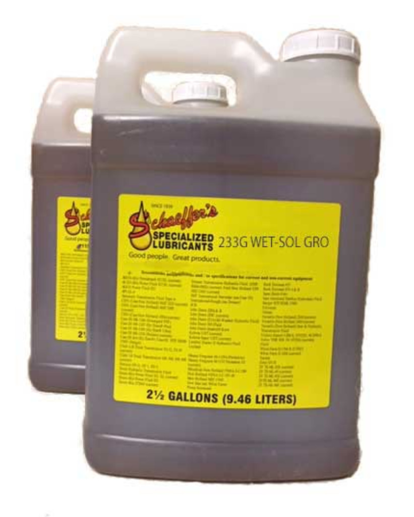 Schaeffer's 233G WetWet-Sol® Gro is a biodegradable non-toxic blended non-ionic surfactant type soil conditioner that contains bio-stimulants, B-Complex vitamins, hormones and fermentation products.-Sol Gro