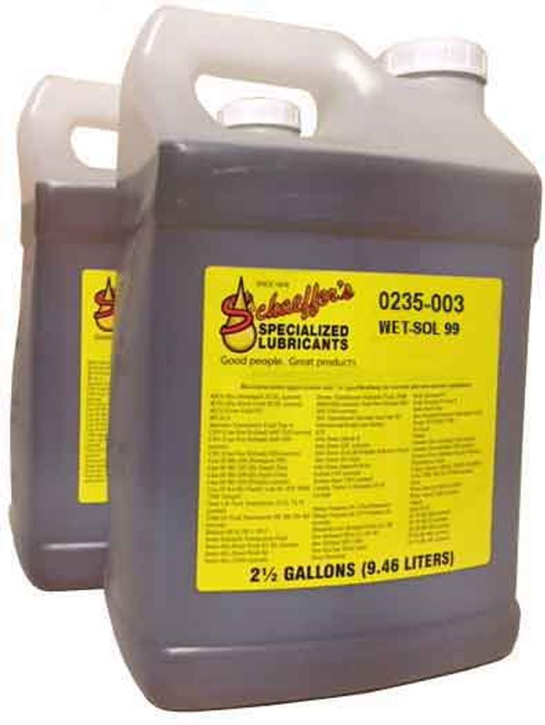 Schaeffer 0235-003 Wet-Sol 99 Concentrate Surfactant (2x2.5-Gallon case)