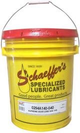 Schaeffer 0294A140-040 Supreme Gear Lube (No Tack) SAE 140 (40-lbs pail)