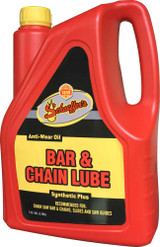 Schaeffer's 116BC Bar & Chain Lube is a premium quality wide temperature range, para synthetic, tacky, heavy-duty, anti-wear oil that is designed for use in the lubrication of chain saw bar and chains, slides and saw-guides.  1 gallon