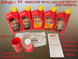 Schaeffer's 919 Webscope Oil Analysis Test Kit (Qty 1)