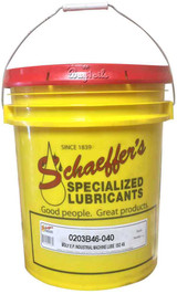 Schaeffer 0203B46-005 Moly EP Industrial Machine Lube (w/Tackifier) ISO 46 (40-Lb pail)