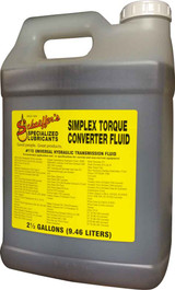 Schaeffer's 115 Simplex Torque Converter Fluid is a universal extreme pressure torque converter fluid designed for use in most farm and industrial tractors. 2.5 gallons