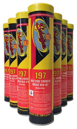 Schaeffer's Moly Pure Synthetic Grease (#197) is a multi-purpose, extreme pressure, wide temperature range grease that is specially formulated for use in all types of heavy duty equipment that is being used under the most adverse conditions of excessive pressure, high stock loading, extreme hot or cold temperatures and moisture. 10 tubes