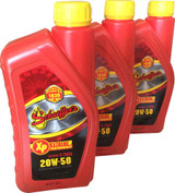 Schaeffer 0707-012S Extreme V-Twin Synthetic Plus Racing Oil 20W-50 (3-Quarts)