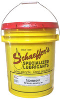 Schaeffer's Moly Universal Gear Lube SAE 80 is a multi-purpose, thermally stable, thermally durable gear lubricant recommended for use in all types of enclosed industrial and automotive gear drives where extreme pressure characteristics are needed. 40 lbs