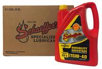 Schaeffer 0700CK4-006 SynShield Durability Advantage Diesel Engine Oil 15W-40 (6-Gallons)