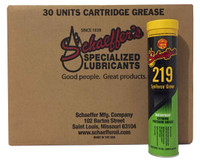 Schaeffer 02192-029 SynForce™ Green Extreme Pressure Grease NLGI #1 or #2 (30-Tubes)