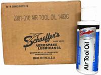 Schaeffer 2001-010 Air Tool Oil - Aerospace Lubricant (12-4oz. Bottle case)