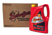 Schaeffer's SynShield™ Max MPG SAE 10W-30 is a premium, advanced performance, synthetic plus, heavy-duty diesel engine oil specially formulated to provide maximum protection against wear, oxidation, deposit formation, soot contamination and aeration in 2017 and newer engines that specify an API FA-4 engine oil. 6 gallons