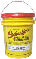 Schaeffer 01145W30-005 Synthetic Plus CNG Engine Oil 5W-30 (5 Gallons)
