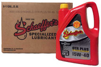 Schaeffer 9000CK4-006 SynShield® OTR Plus Full Synthetic 5W-40 (6-Gallons)