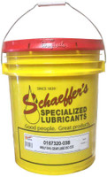 Schaeffer's 167  Moly Full Synthetic gear lube ISO 320 is engineered from the highest quality of PAO synthetic base oils, a non-corrosive, extreme pressure additive and proven friction modifier, Micron Moly®.