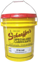 Schaeffer 0740-040 Synthetic Lube EP 80W-140 (Extended Warranty Approved) (40-lbs pail)