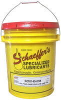 Schaeffer 0276140-038 Synthetic Food Grade Gear Lube H-1 SAE 140 (38-Lbs pail)