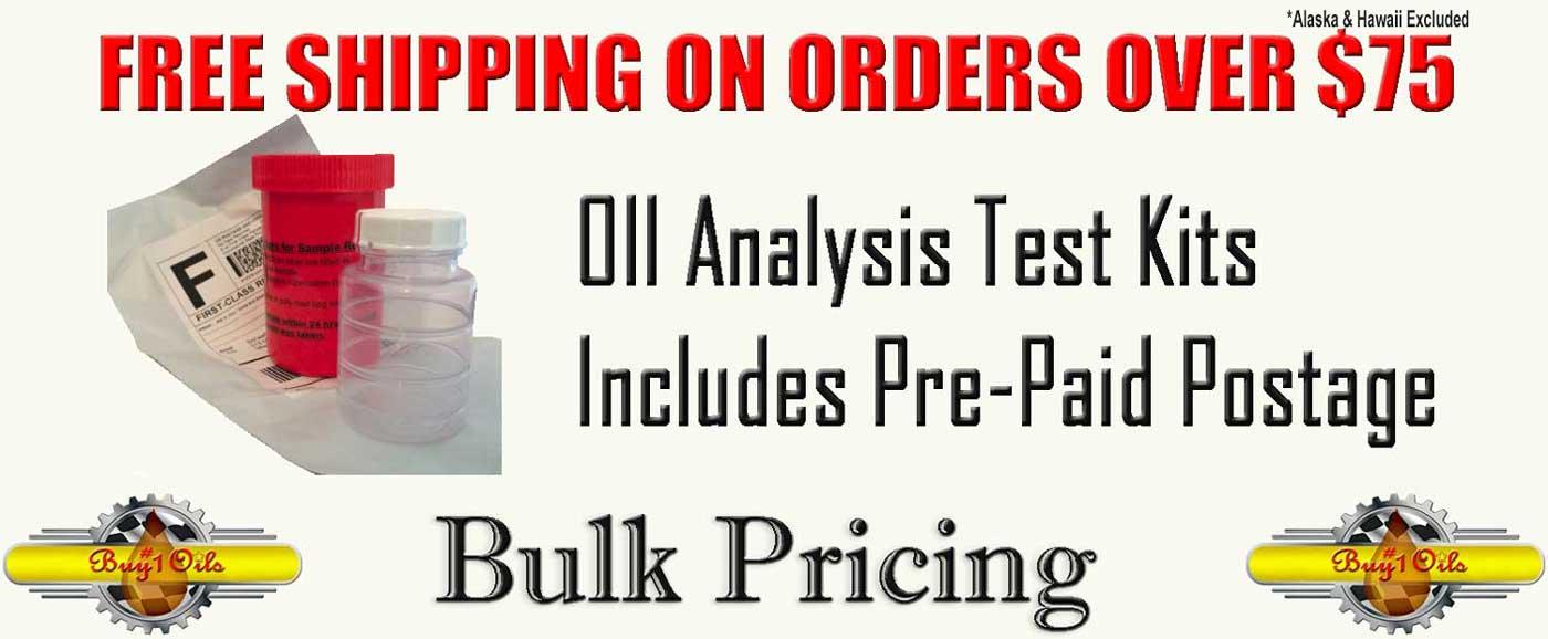 Oil Analysis Test Kits