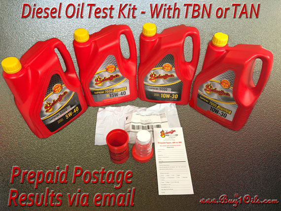 Buy1oils sells Oil Analysis Test Kits