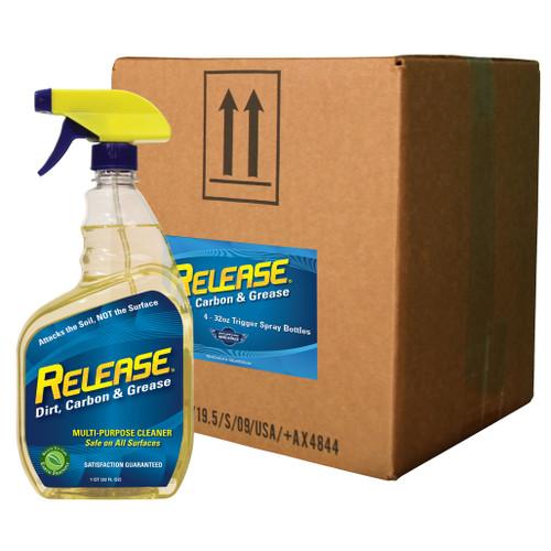 Release (4) 32oz. Spray Bottle Case