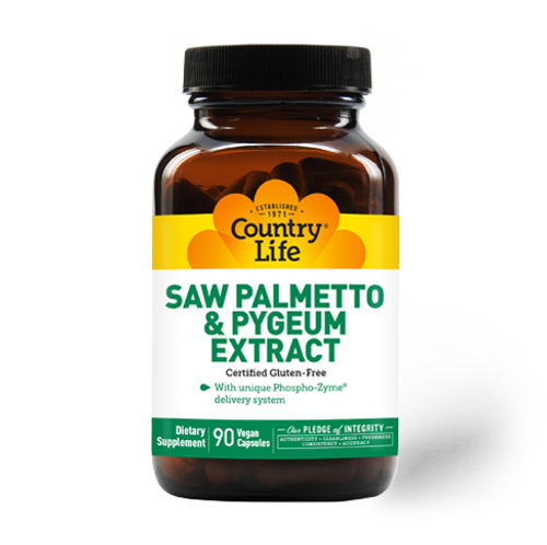 Saw Palmetto & Pygeum Extract