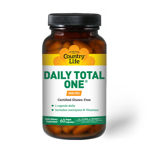 Daily Total One Iron-Free