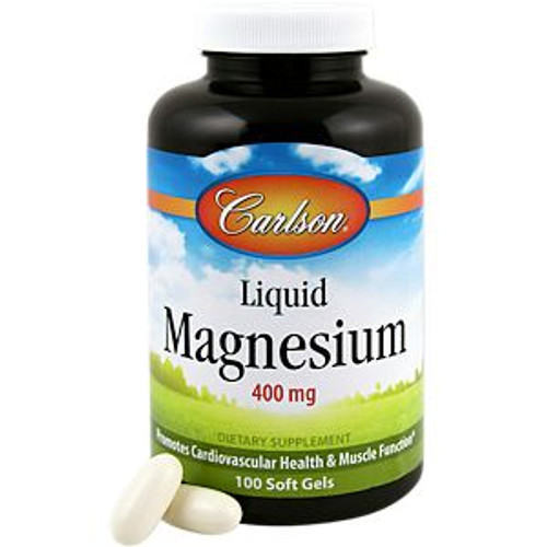 Liquid Magnesium 400MG 100 Soft Gels