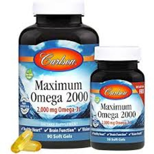 Carlson Maximum Omega 2000 Lemon 90+30