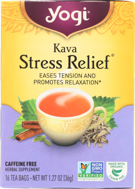 Tea Kava Stress Relief