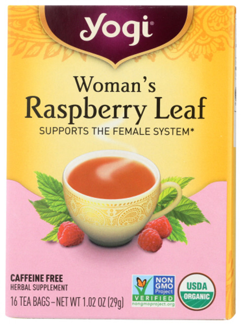 YOGI WOMANS RASPBERRY LEAF