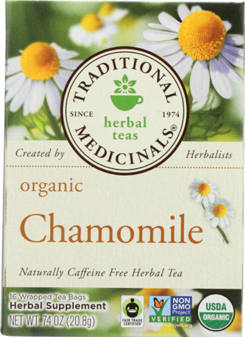 Traditional Med Org Chamomile Tea