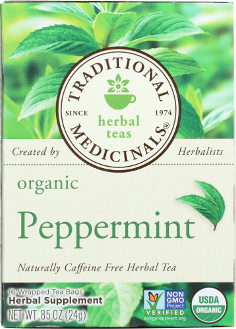 Traditional Peppermint Org Tea