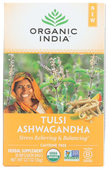 Org India Ashwagandha Tea