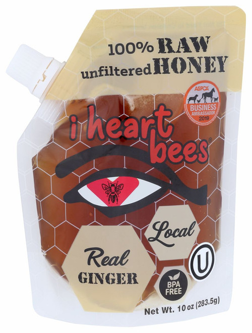 Real Ginger Local Honey 10 Oz