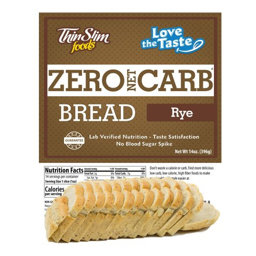 ThinSlim Zero Carb Rye Bread