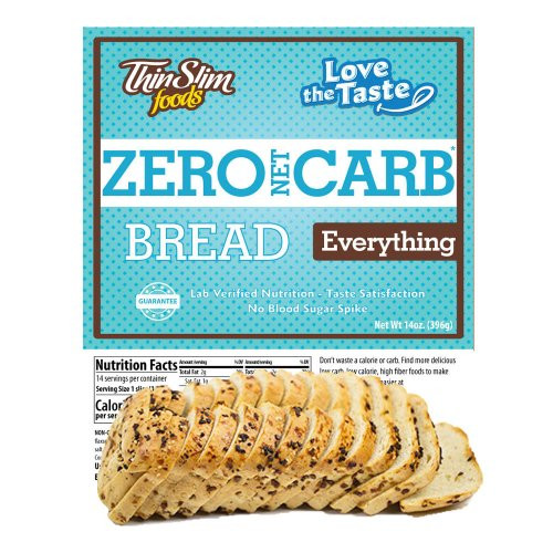 ThinSlim Zero Carb Bread Everything